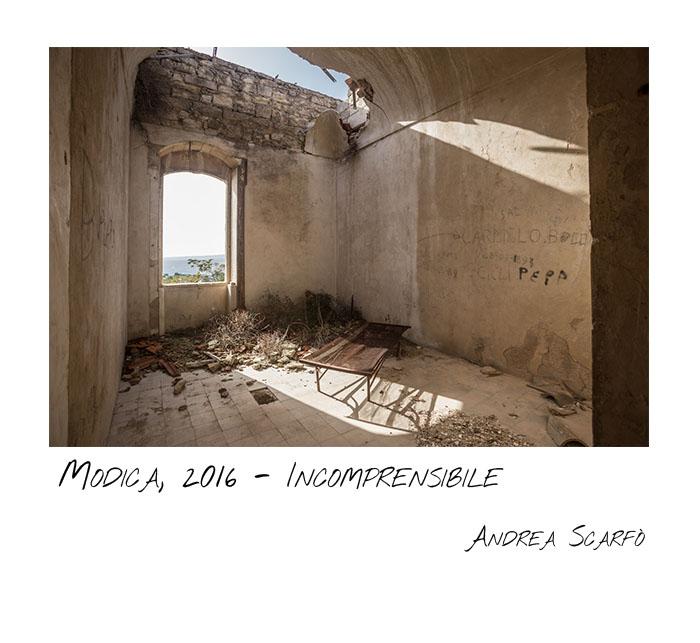 2016, Modica - Incomprensibile